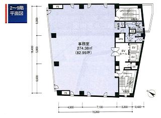 新宿区岩戸町の賃貸オフィス・貸事務所 日交神楽坂ビル