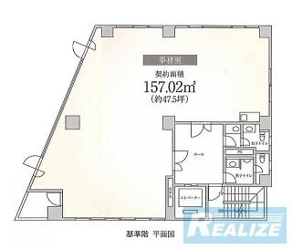 新宿区高田馬場の賃貸オフィス・貸事務所 ユニゾ高田馬場ビル