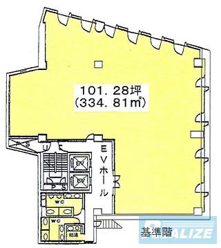 新宿区高田馬場の賃貸オフィス・貸事務所 ユニゾ高田馬場四丁目ビル