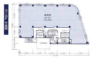 新宿区片町の賃貸オフィス・貸事務所 曙橋SHKビル