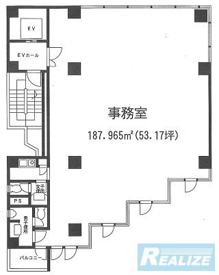 中野区中央の賃貸オフィス・貸事務所 フジビル1