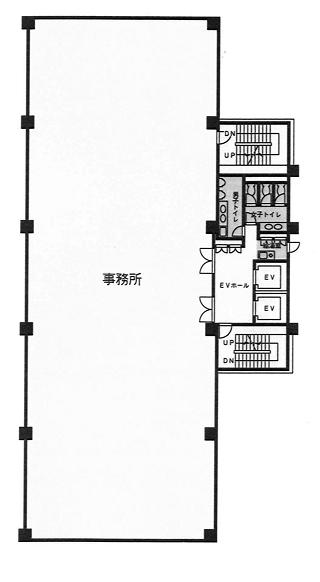 文京区後楽の賃貸オフィス・貸事務所 K.I.S飯田橋ビル