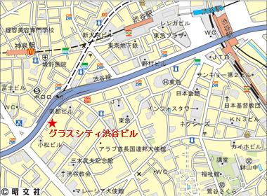 渋谷区南平台町の賃貸オフィス・貸事務所 グラスシティ渋谷ビル