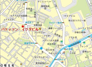 渋谷区神宮前の賃貸オフィス・貸事務所 バティマン・イケダビル