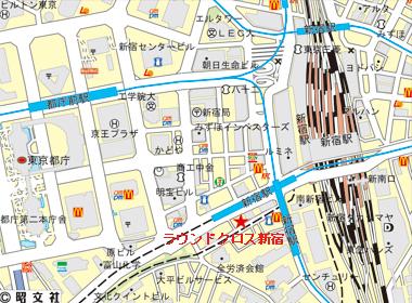 渋谷区代々木の賃貸オフィス・貸事務所 ラウンドクロス新宿