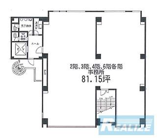 江東区佐賀の賃貸オフィス・貸事務所 第1富士ビル