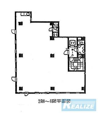 北区赤羽の賃貸オフィス・貸事務所 千和ビル