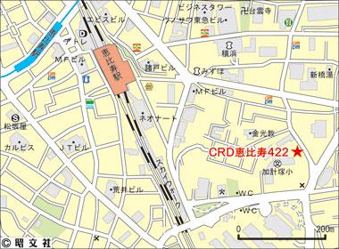 渋谷区恵比寿の賃貸オフィス・貸事務所 ユニゾebisu422
