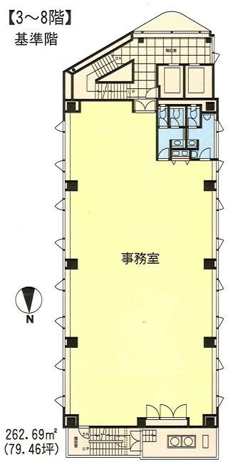 港区高輪の賃貸オフィス・貸事務所 SOC高輪ビル
