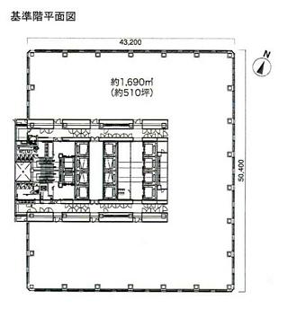 新宿区北新宿の賃貸オフィス・貸事務所 新宿フロントタワー
