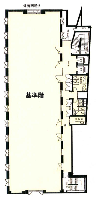 渋谷区神宮前の賃貸オフィス・貸事務所 Daiwa神宮前ビル