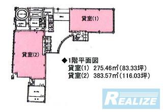 千代田区九段北の賃貸オフィス・貸事務所 九段ファーストプレイス