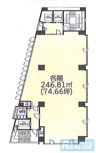 練馬区石神井町の賃貸オフィス・貸事務所 ビオラ