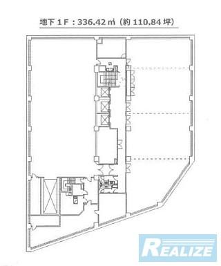 新宿区新小川町の賃貸オフィス・貸事務所 KDX飯田橋スクエア
