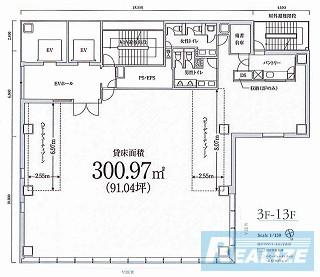 渋谷区渋谷の賃貸オフィス・貸事務所 PMO渋谷