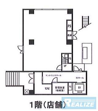 港区南麻布の賃貸オフィス・貸事務所 プレール麻布仙台坂