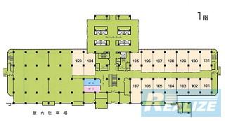 大田区平和島の賃貸オフィス・貸事務所 TRCセンタービル