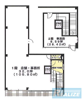 豊島区池袋の賃貸オフィス・貸事務所 丸信第一ビル