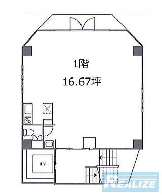 千代田区西神田の賃貸オフィス・貸事務所 Bonheur西神田BLDG.